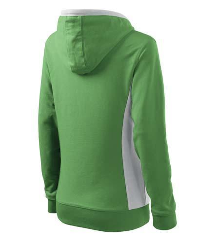 dámská mikina Adler Kangaroo zelená zboku 2a579e83b3