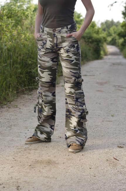 66582e7d54a2 Dámské kalhoty Rufoor