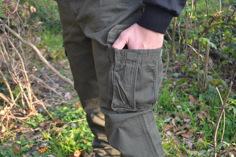 c69e773a6075 Pánské zateplené kalhoty Loshan disaster olivové