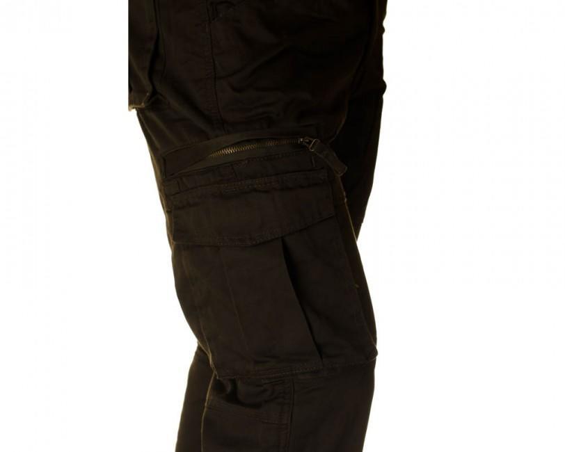 241ae22a760d Pánské kalhoty loshan pablo olivové