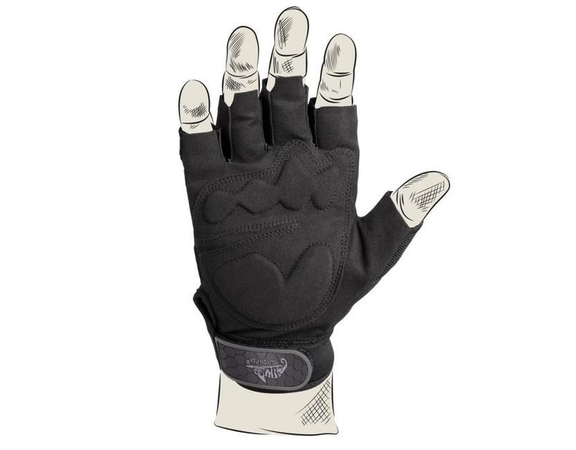 1588039e5 Helikon-tex taktické rukavice bez prstů 1/2, černé | ArmySector
