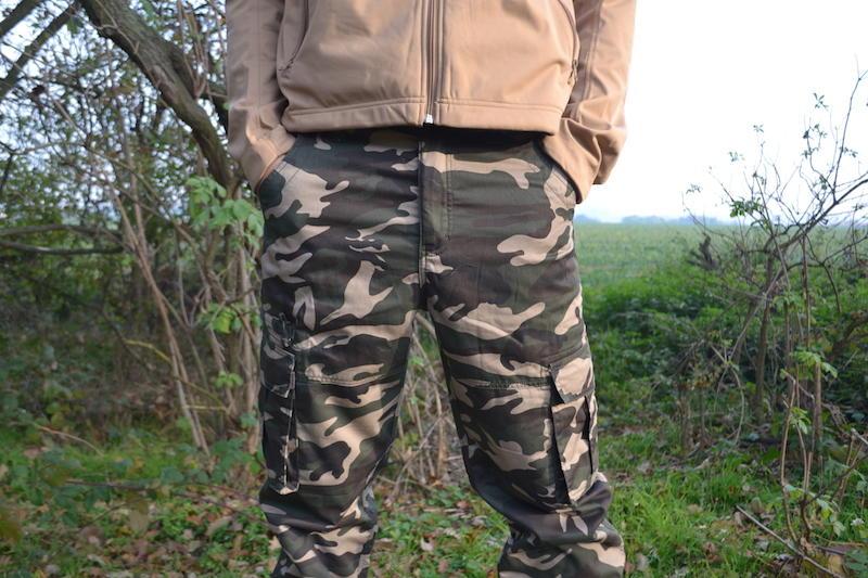 98449b14b280 Pánské zateplené kalhoty loshan igancio vzor woodland - ArmySector