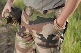MFH náramek paracord coyote tan kovová spona, šířka 2,3 cm