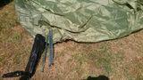 MFH minipack stan pro 2 osoby olivový 213x137x97cm