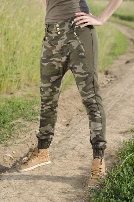 Ušetříte  13 % Garment denim dámské kalhoty s nízkým sedem woodland.  Zobrazit v plné velikosti b968234b48