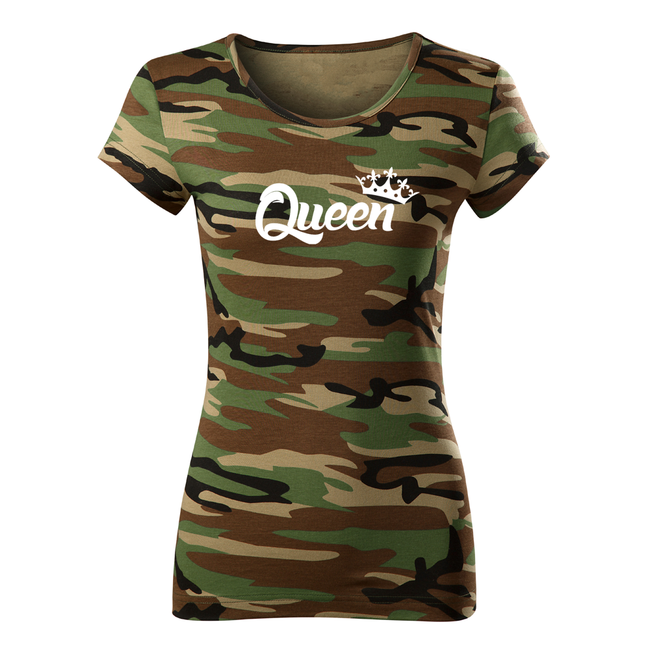 ... O T dámské krátké tričko queen 20a2693d7d