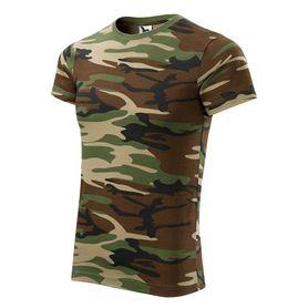 Adler Camouflage krátké tričko, brown, 160g/m2