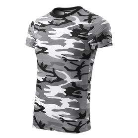 Adler Camouflage krátké tričko, gray, 160g/m2