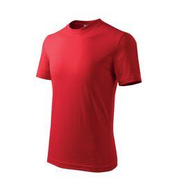 Adler Classic dětské tričko, rudé, 160g/m2