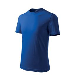 Adler Classic dětské tričko, modré, 160g/m2