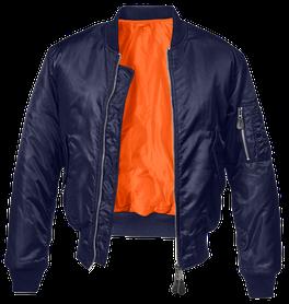 Brandit MA1 bomber pilot bunda, dark navy