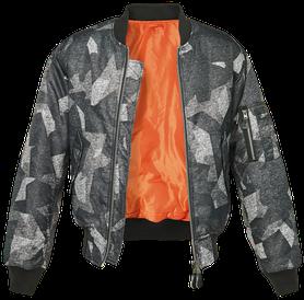 Brandit MA1 bomber pilot bunda, night camo