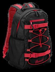 Brandit Urban Cruiser batoh, černo-červený, 20l