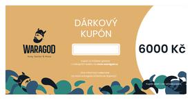 Dárková poukázka - 6000 KČ