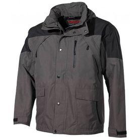FOX nepromokavá bunda do deště High Mountain černo-zelení
