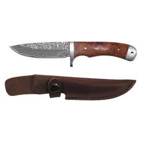 Fox Outdoor, Damask nůž  v koženém púzdře