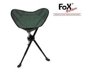 FOX rybářská židle nastavitelná