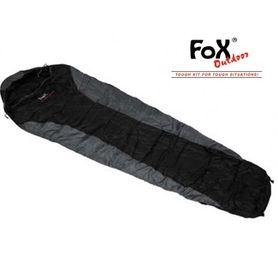 FOX mumia economic spacák  černo - šedý +/ - 0°C