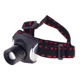 Head LED čelovka, 1 x 3 watt, zoom