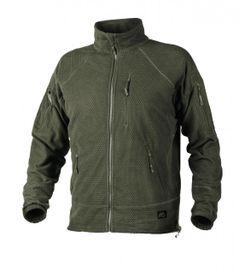 Helikon Alpha Tactical flísová bunda, olivová