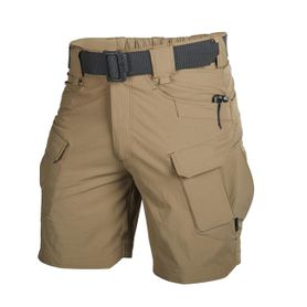 "Helikon Outdoor Tactical Rip-Stop 8,5"" šortky polycotton Mud Brown"
