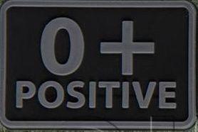 Helikon-Tex 3D PVC nášivka 0+ Positive, set 2ks