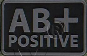 Helikon-Tex 3D PVC nášivka AB + Positive, set 2ks