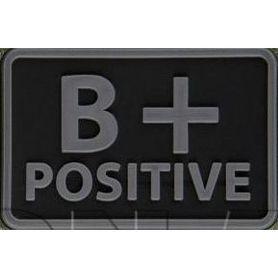 Helikon-Tex 3D PVC nášivka B + Positive, set 2ks