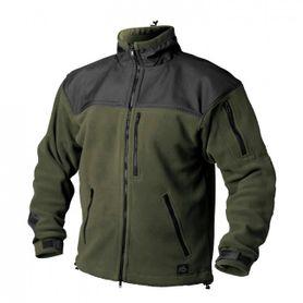 Helikon-Tex Classic Army bunda flísová  olivovo-černá, 300g/m2