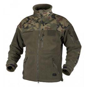 Helikon Infantry flísová bunda, olivová/woodland, 330g / m2