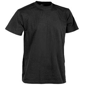 Helikon-Tex krátké tričko černé, 165g/m2