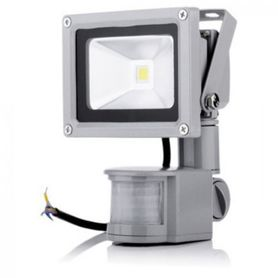 LED Outdoor venkovní reflektor s detektorem pohybu 10W
