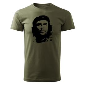 O&T krátké tričko Che Guevara, olivová 160g/m2