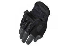 Mechanix M-Pact rukavice protinárazové černé bez prstů