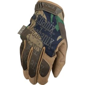 Mechanix Original woodland rukavice taktické