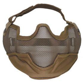 MFH Airsoft maska na obličej, coyote