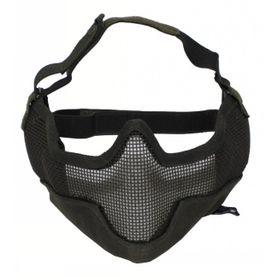 MFH Airsoft maska na obličej, olivová