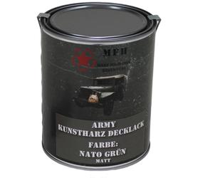 MFH army barva, Nato zelená matná, 1 litr