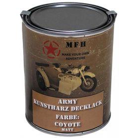 MFH army barva coyote matná, 1 litr