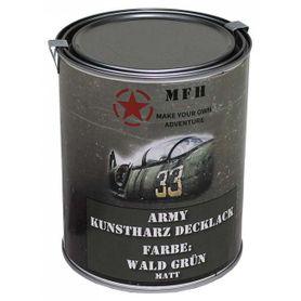 MFH army barva, lesní zelená matná, 1 litr