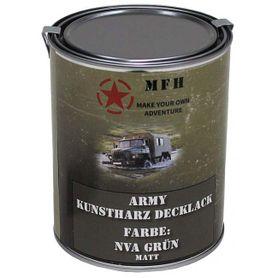 MFH army barva, NVA zelená matná, 1 litr