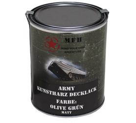 MFH army barva, oliv drab matná, 1 litr
