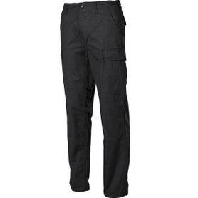 MFH BDU pánské kalhoty Rip-Stop černé
