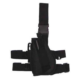 MFH Bull stehenní ľavostranné pouzdro na zbraň, černé