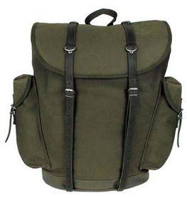 MFH BW horský batoh olivový 30L kožené popruhy