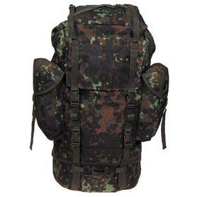 MFH BW nepromokavý batoh vzor Flecktarn 65L