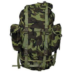 MFH BW nepromokavý batoh vzor M95 CZ maskáč 65L