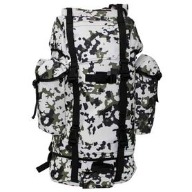 MFH BW nepromokavý batoh vzor Snow camo 65L