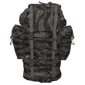 MFH BW nepromokavý batoh vzor Tiger Stripe 65L