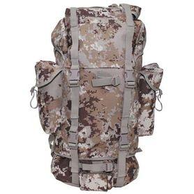 MFH BW nepromokavý batoh vzor Vegetato desert 65L